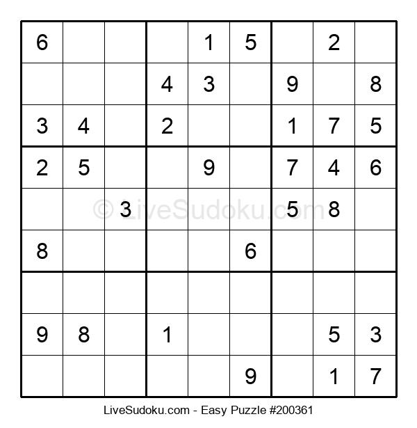Beginners Puzzle #200361