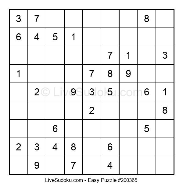 Beginners Puzzle #200365