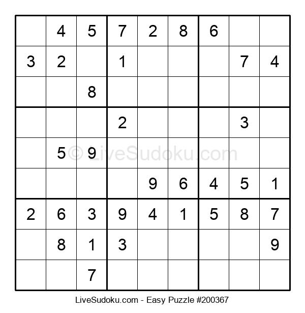 Beginners Puzzle #200367