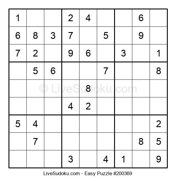 Beginners Puzzle #200369