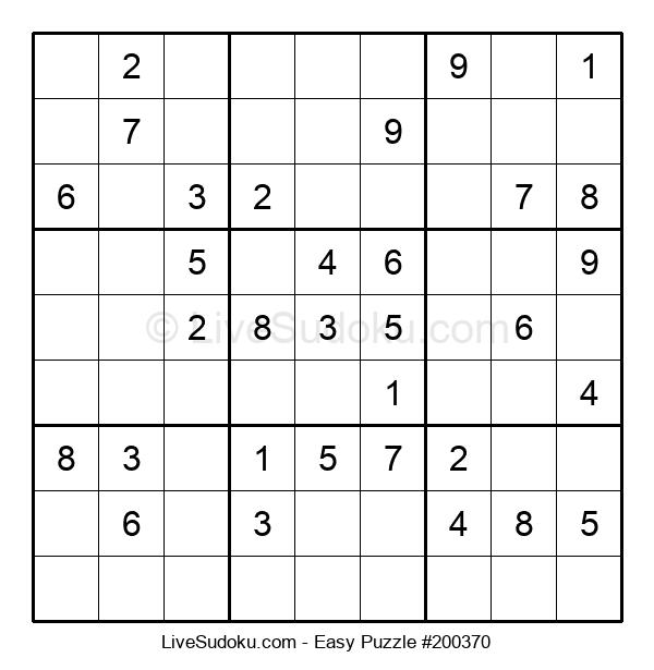 Beginners Puzzle #200370