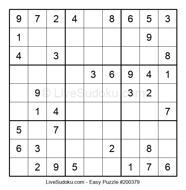 Beginners Puzzle #200379
