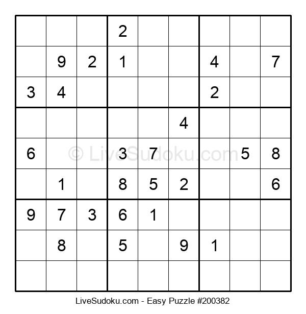 Beginners Puzzle #200382