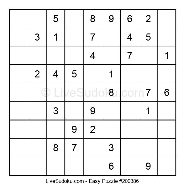 Beginners Puzzle #200386