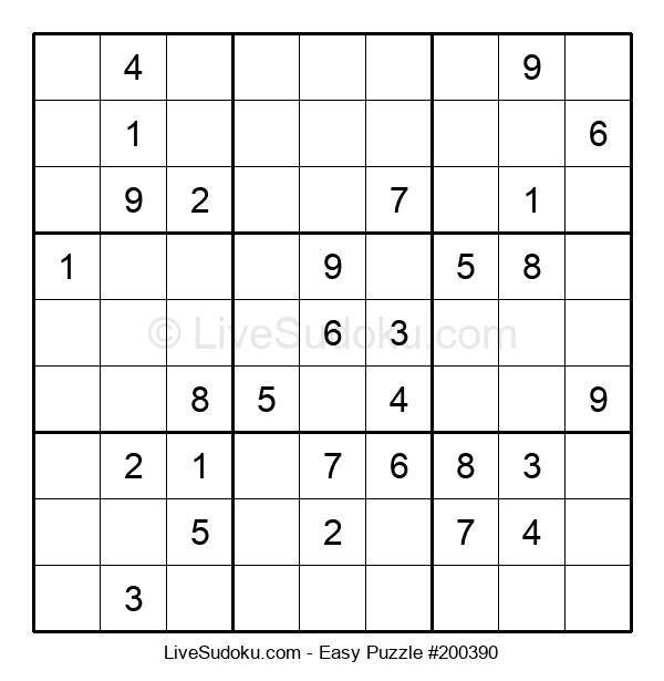 Beginners Puzzle #200390