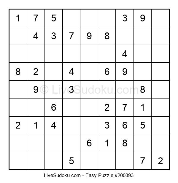 Beginners Puzzle #200393