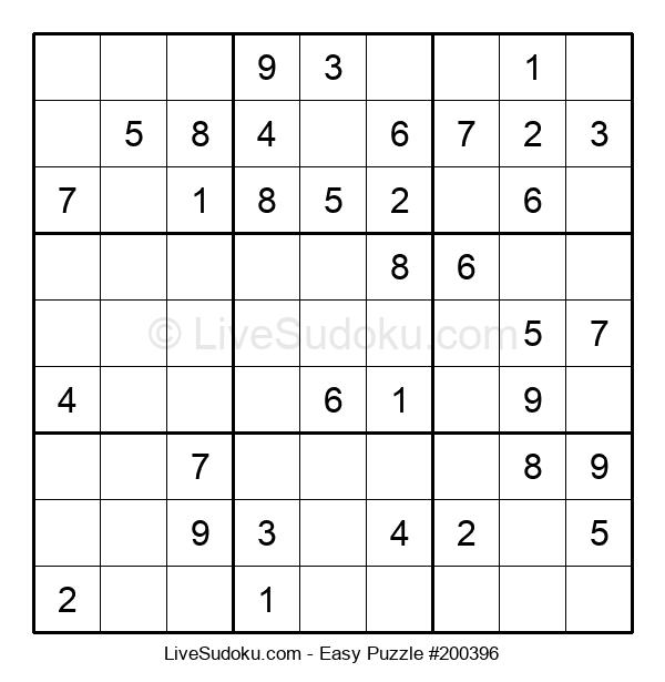 Beginners Puzzle #200396