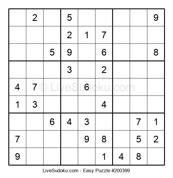 Beginners Puzzle #200399