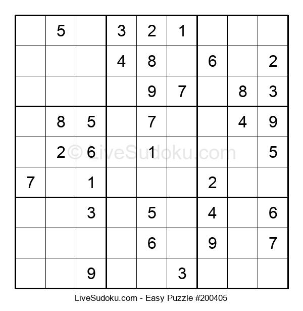 Beginners Puzzle #200405