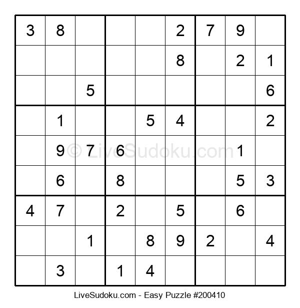 Beginners Puzzle #200410