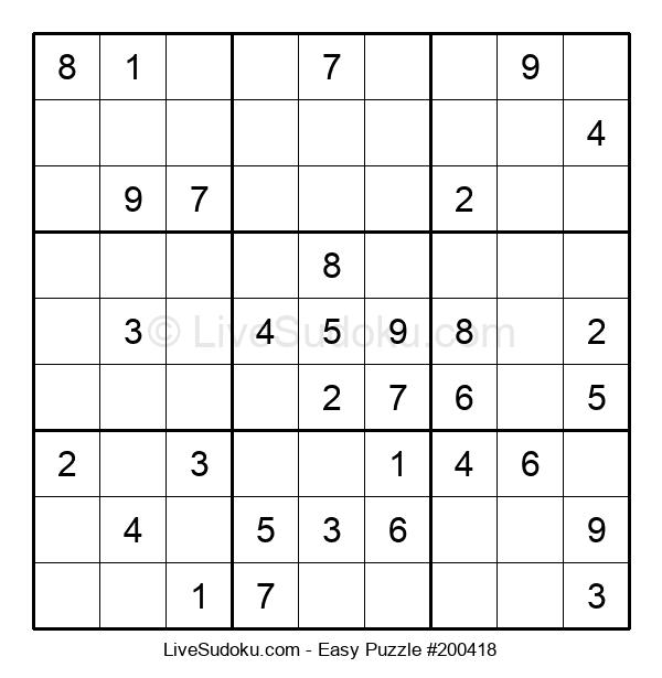 Beginners Puzzle #200418