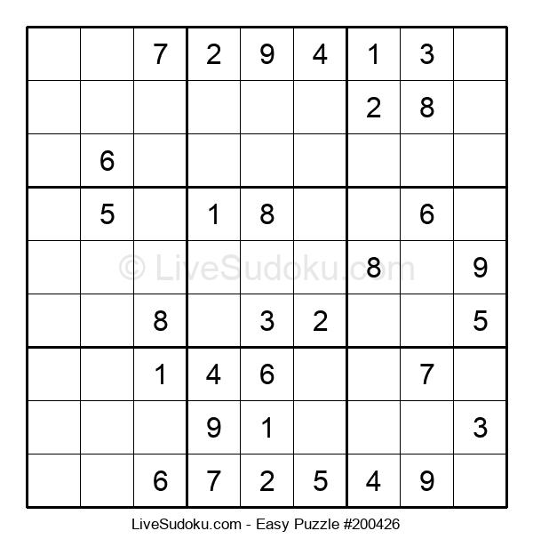 Beginners Puzzle #200426