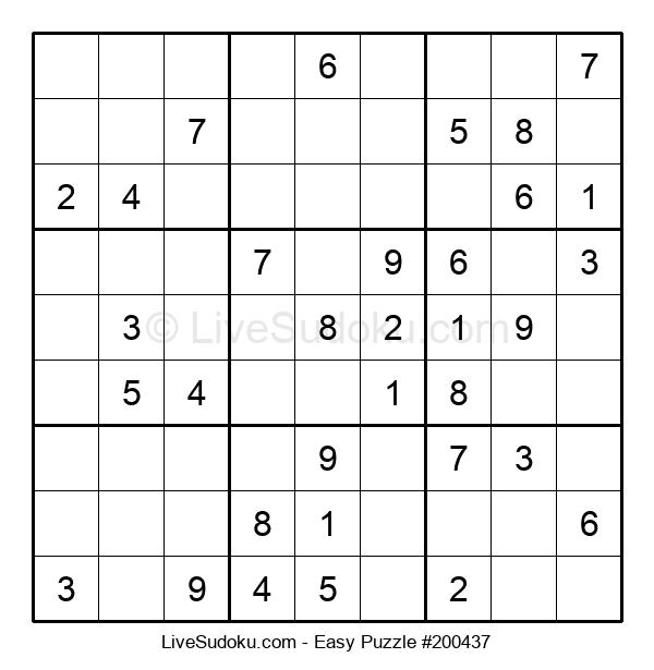Beginners Puzzle #200437