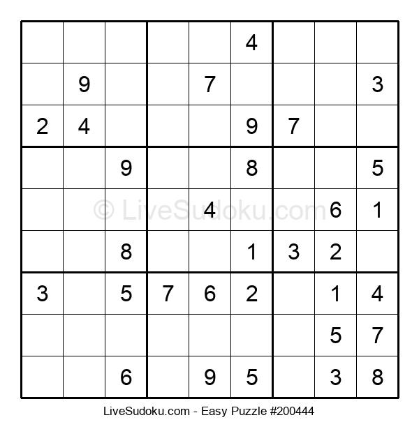 Beginners Puzzle #200444
