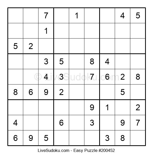Beginners Puzzle #200452