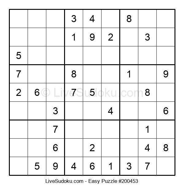 Beginners Puzzle #200453