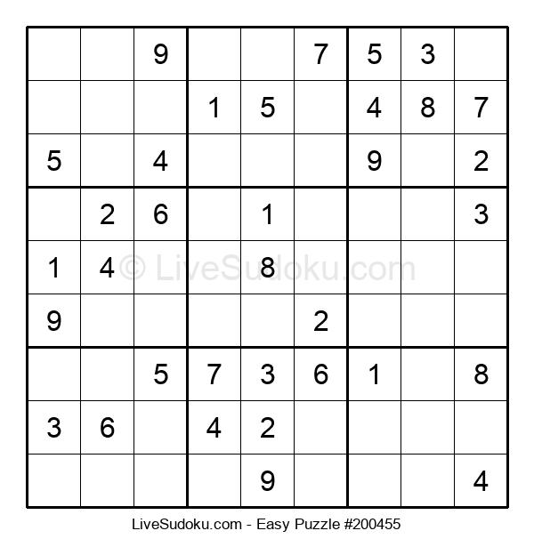Beginners Puzzle #200455
