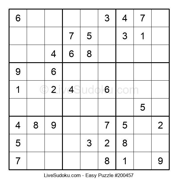 Beginners Puzzle #200457