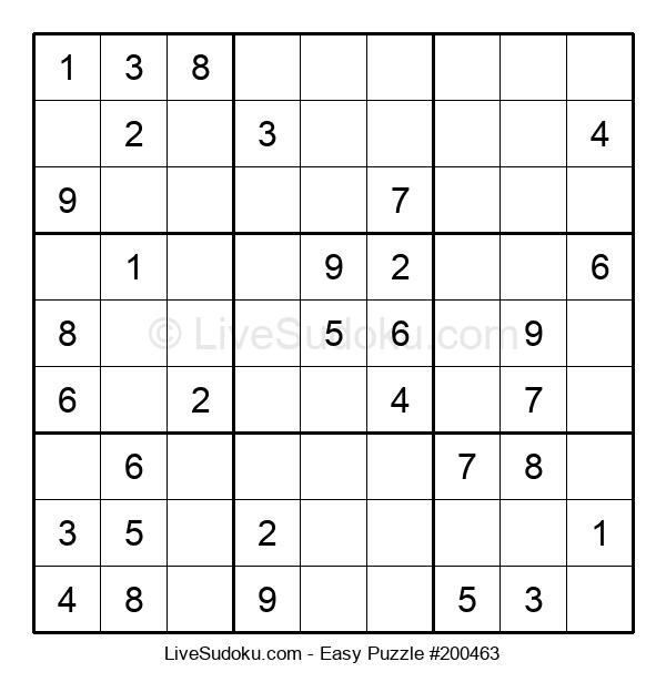 Beginners Puzzle #200463