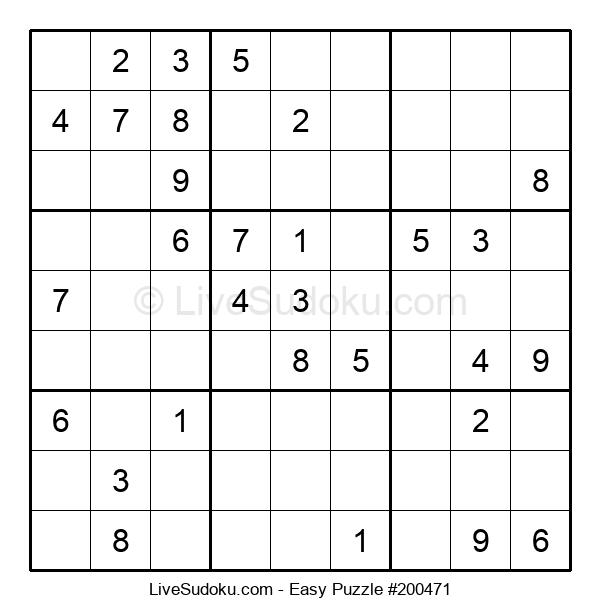 Beginners Puzzle #200471