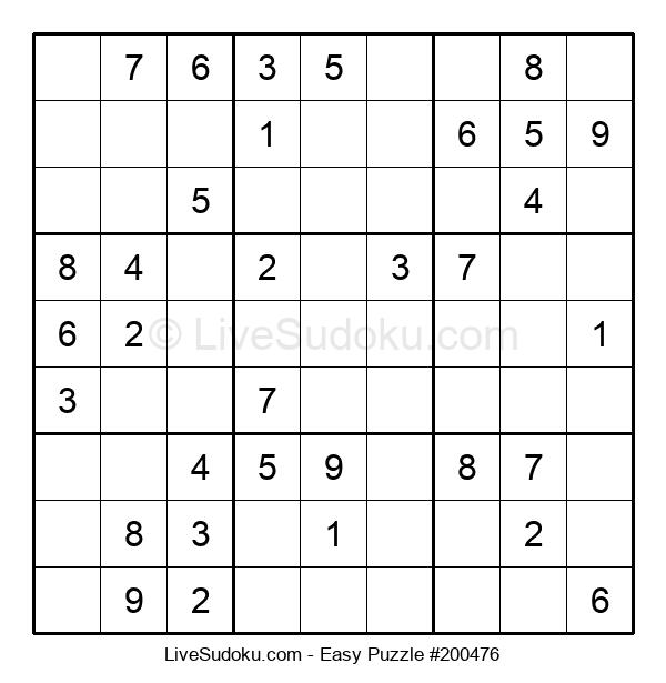 Beginners Puzzle #200476