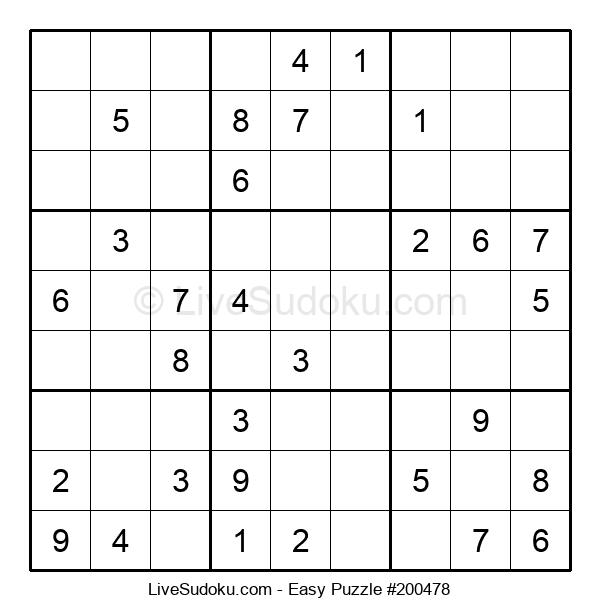 Beginners Puzzle #200478