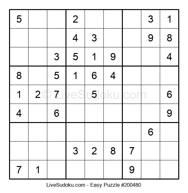 Beginners Puzzle #200480