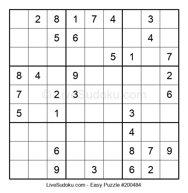 Beginners Puzzle #200484