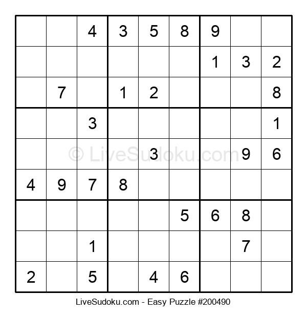 Beginners Puzzle #200490