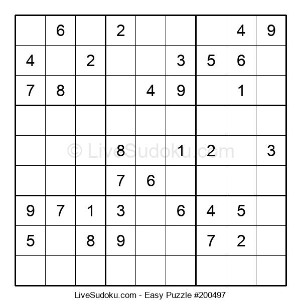 Beginners Puzzle #200497