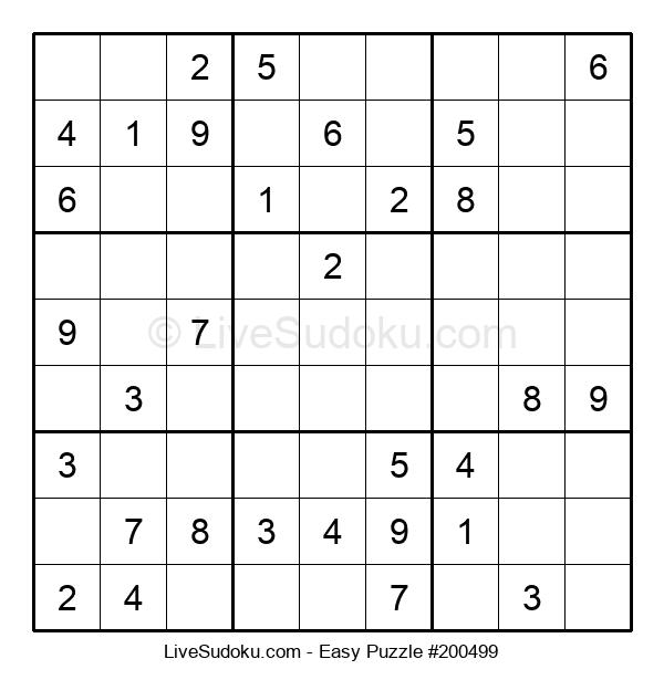 Beginners Puzzle #200499