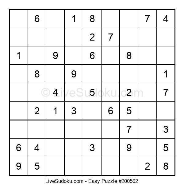 Beginners Puzzle #200502