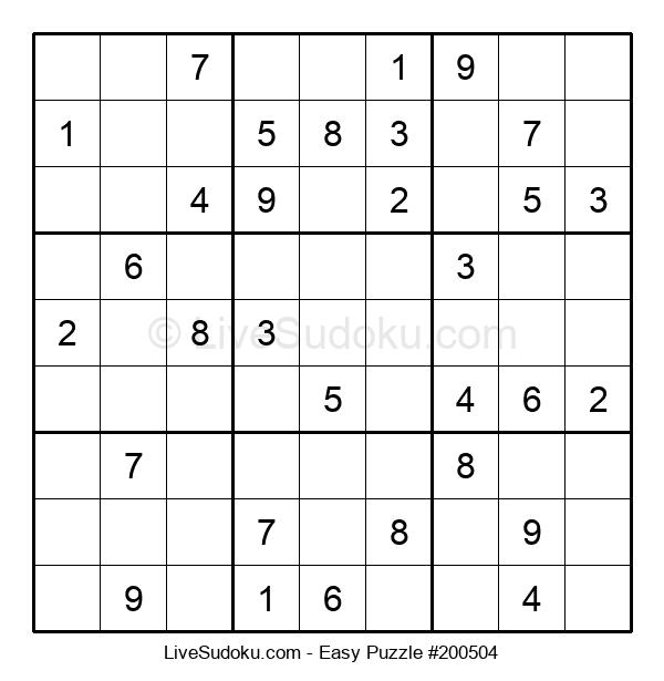 Beginners Puzzle #200504