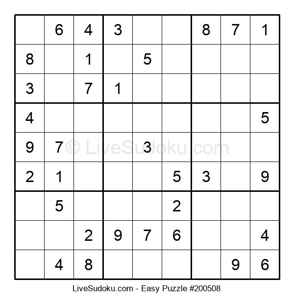 Beginners Puzzle #200508