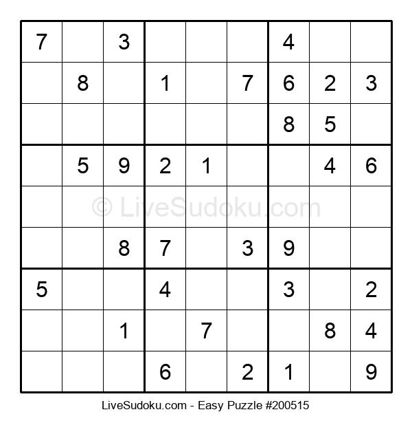 Beginners Puzzle #200515