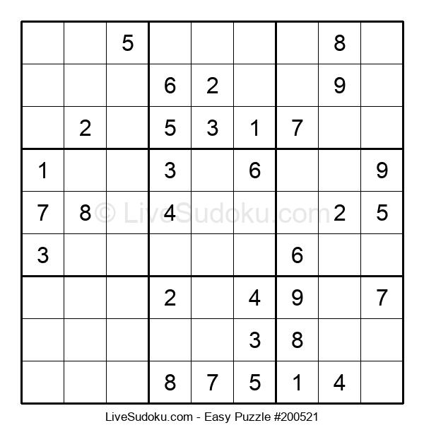 Beginners Puzzle #200521