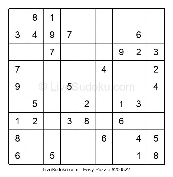 Beginners Puzzle #200522