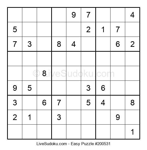Beginners Puzzle #200531