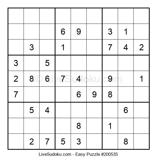 Beginners Puzzle #200535
