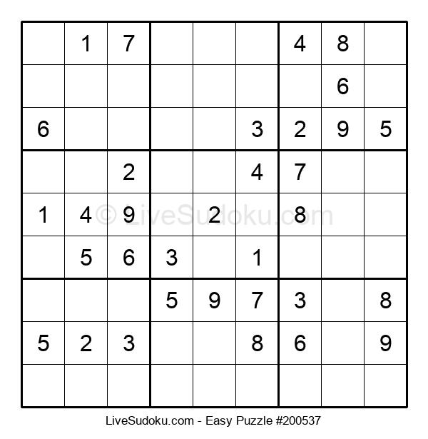 Beginners Puzzle #200537