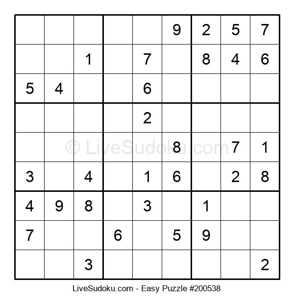 Beginners Puzzle #200538