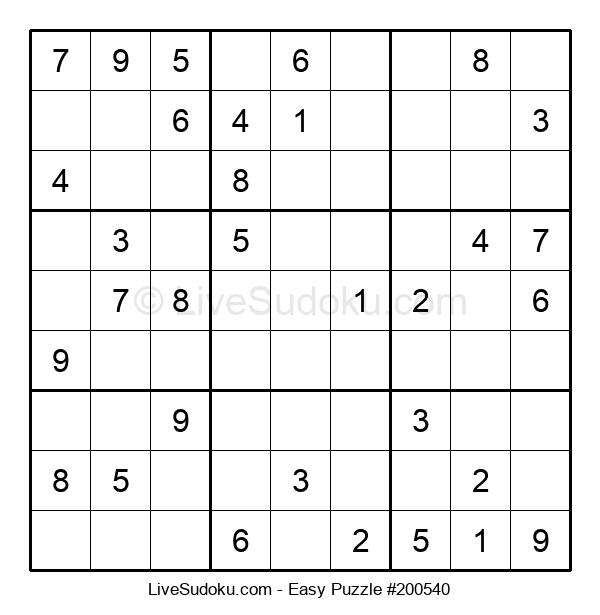 Beginners Puzzle #200540
