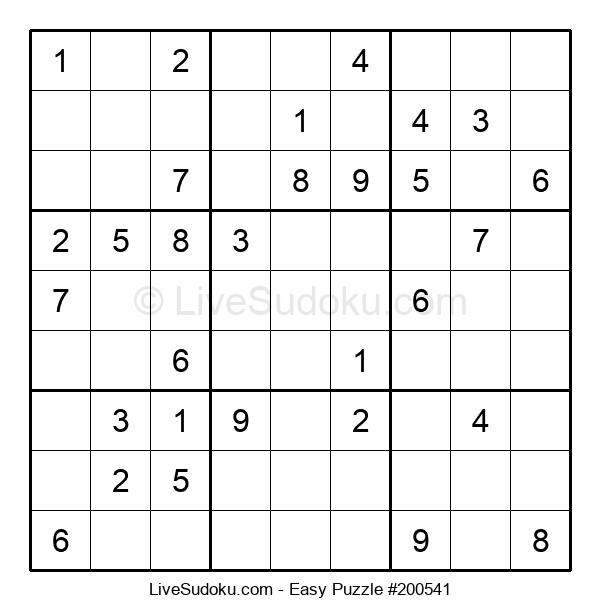 Beginners Puzzle #200541