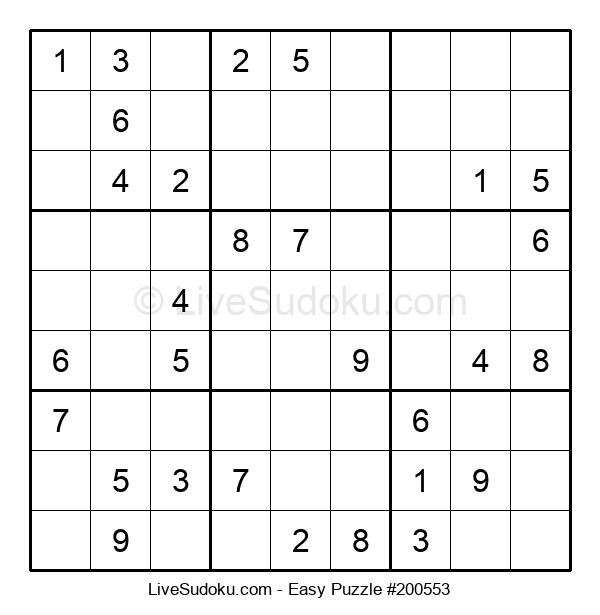 Beginners Puzzle #200553