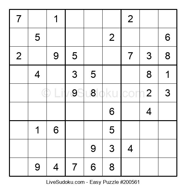 Beginners Puzzle #200561