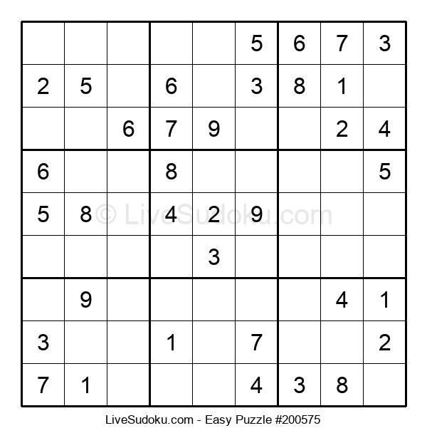 Beginners Puzzle #200575