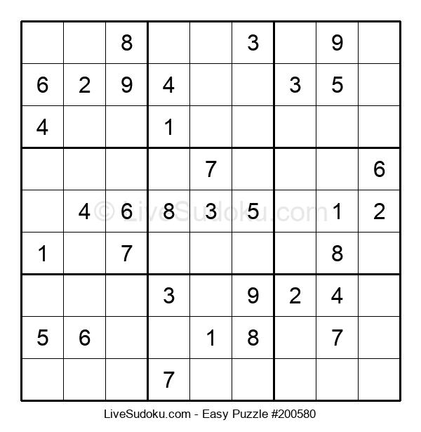 Beginners Puzzle #200580