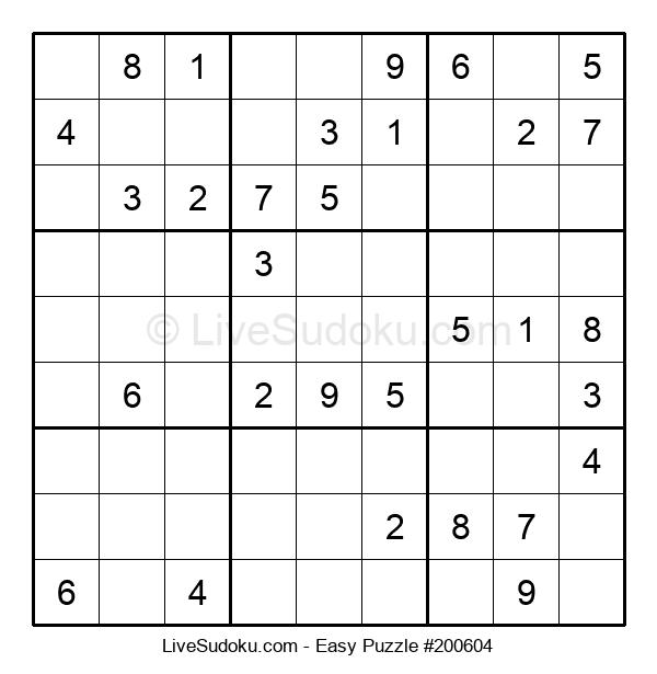 Beginners Puzzle #200604
