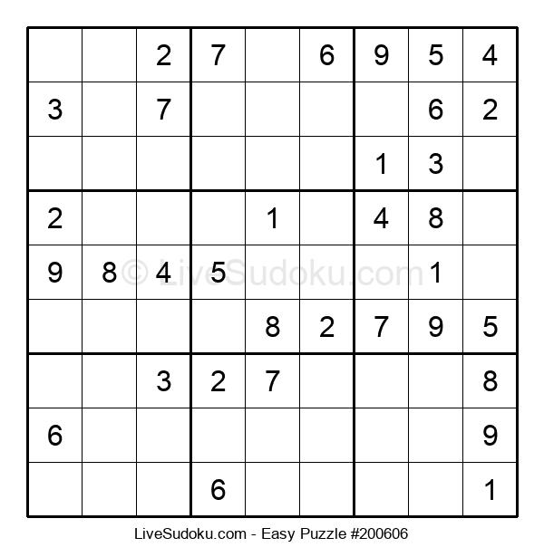 Beginners Puzzle #200606