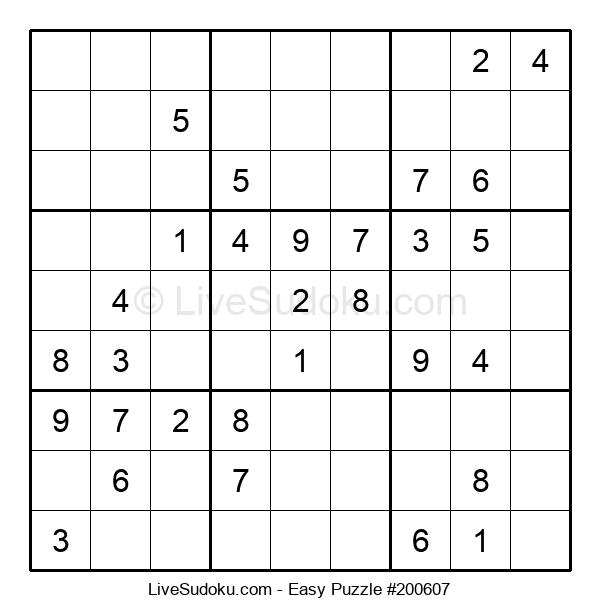 Beginners Puzzle #200607